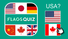 Multiplayer flags of the world quiz