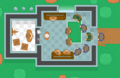 Humans and robbers online game