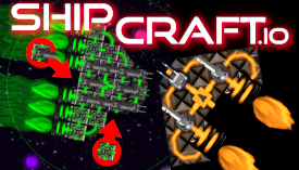 Build space ship unlock new ship parts improve blocks :)