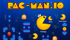 Become the biggest PAC-MAN on the leaderboard