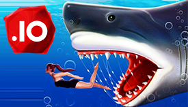 Play Shark Attack.io