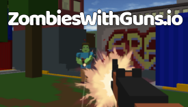 zombies with guns logo