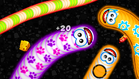 Play WormsZone.io