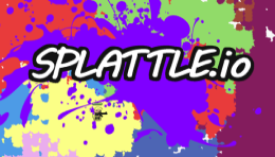 Splattle.io is a multiplayer arena style fighting game where you paint the ground to control as much area as you can!