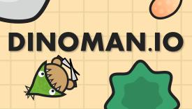 Play Dinoman.io